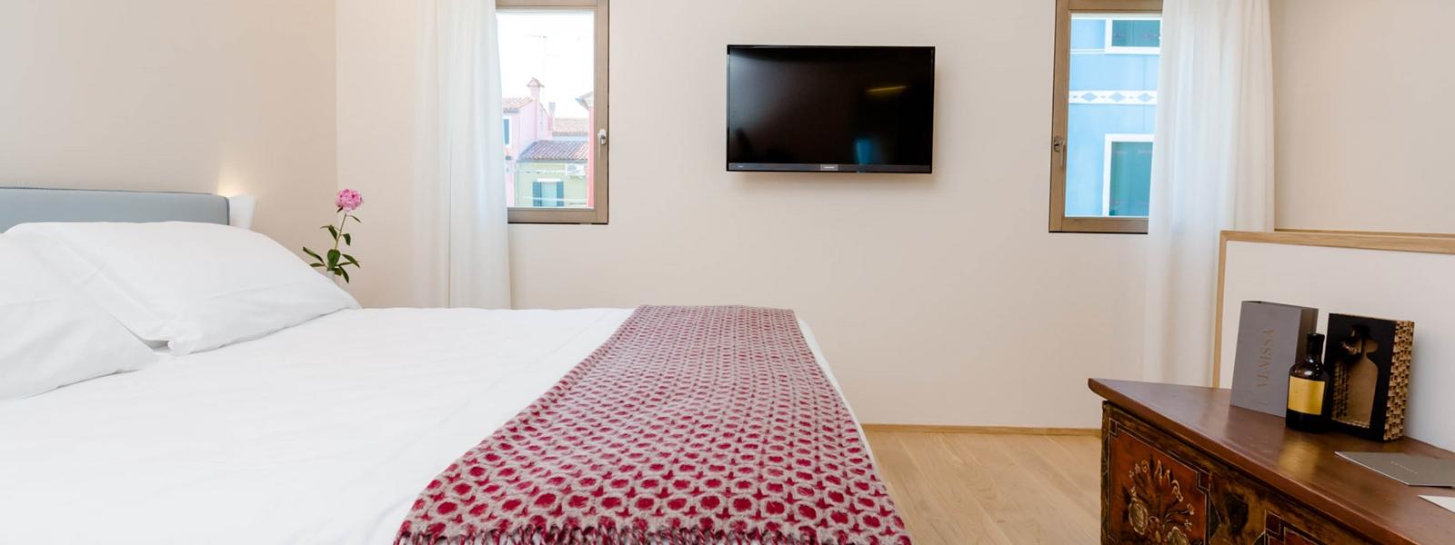 Hotel Burano camera suite