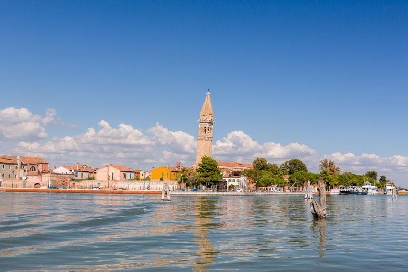 The ten places to see in Burano
