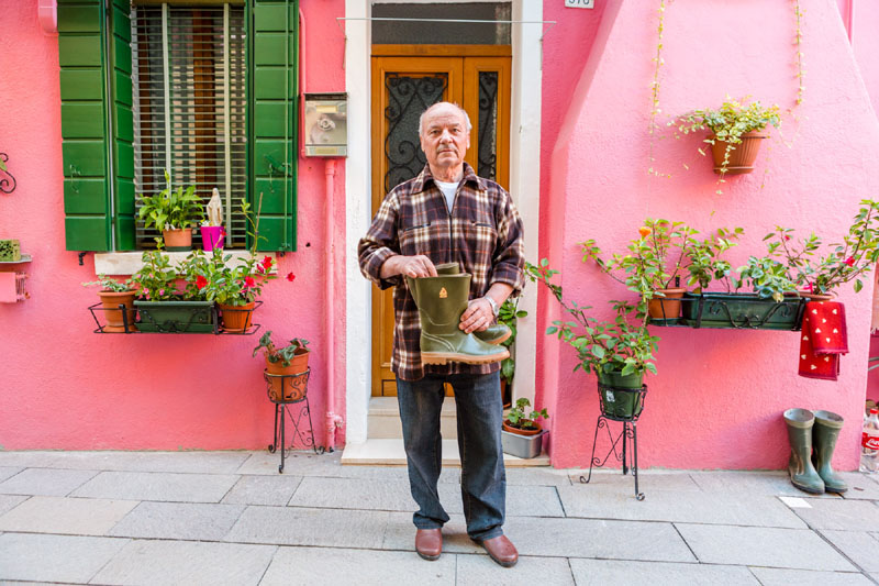 The stories of the residents of Burano: to understand the island, you have to get the know the people who live there.